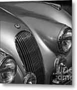Jaguar Xk 120 Metal Print