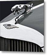 Jaguar Mk Ix Hood Metal Print