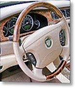 Jaguar S Type Interior Metal Print