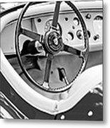 Jaguar Steering Wheel 2 Metal Print