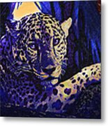 Jaguar- The Spirit Of Belize Metal Print