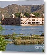 Jah Mahal Palace Metal Print