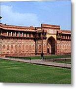 Jahangir Palace Red Fort Agra Metal Print