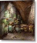 Jail - Eastern State Penitentiary - Cabinet Members  Metal Print