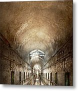 Jail - Eastern State Penitentiary - End Of A Journey Metal Print