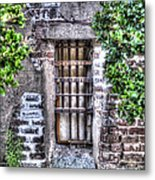 Jail Room Window Metal Print