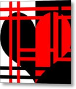 Jailed Heart Metal Print