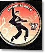 Jailhouse Rock Metal Print