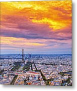 J'aime Paris Metal Print