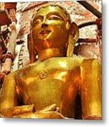 Jain Temple Amarkantak India Metal Print