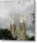 Jakarta Cathedral Indonesia Metal Print