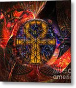 Jaliel Metal Print by Mynzah Osiris