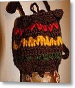Jamaican Coconut And Crochet Shoulder Bag Metal Print