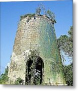 Jamaican Sugar Mill Metal Print
