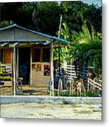Jamaican's Party Store Metal Print