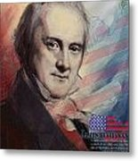 James Buchanan Metal Print