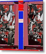 James Earl Jones Smoking Twice Collage The Great White Hope Set Globe Arizona 1969-2012 Metal Print