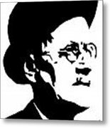 James Joyce Famous Irish Writer Metal Print