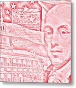 James Madison- 4th Us President Metal Print