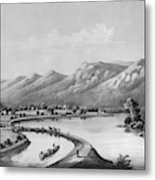 James River Canal, 1857 Metal Print