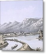 James River Canal Near The Mouth Metal Print