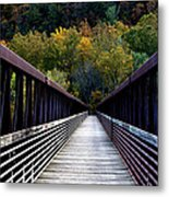 James River Footbridge Metal Print