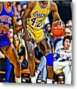 James Worthy Metal Print