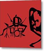 Jammin Jazz Trio Metal Print