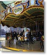 Jane's Carousel 1 In Dumbo Metal Print