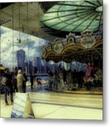 Jane's Carousel 3 In Dumbo Metal Print