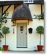 Janes Cottage Nether Wallop Metal Print