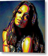 Janet Jackson Metal Print