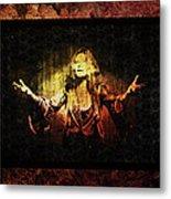 Janis Joplin - Gypsy Metal Print