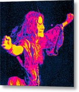 Janis Joplin Psychedelic Fresno 2 Metal Print by Joann Vitali