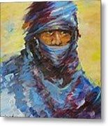 Janjaweed 3 Metal Print by Negoud Dahab