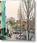 January In Olde Town Metal Print