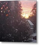 January Sunrise From Civill Avenue Metal Print
