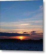 January Sunset 2 Metal Print
