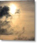 January Sunset After The Storm Metal Print