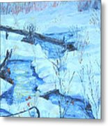 January Thaw 2  Metal Print