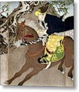 Japan Boshin War, 1868 Metal Print