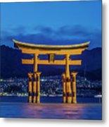 Japan, Miyajima, Itsukushima Shrine Metal Print