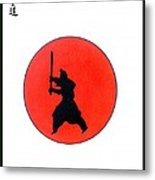 Japanese Bushido Way Of The Warrior Metal Print