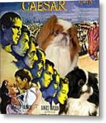 Japanese Chin Art - Julius Caesar Movie Poster Metal Print