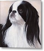 Japanese Chin Painting Metal Print