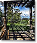 Japanese Garden Of Water And Fragrance 2 Metal Print