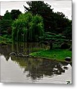 Japanese Garden Point Metal Print