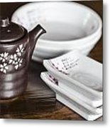 Japanese Restaurant Metal Print