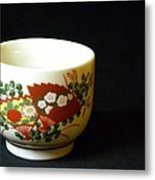 Japanese Tea Cup Metal Print