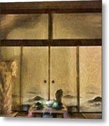 Japanese Tea Room Metal Print